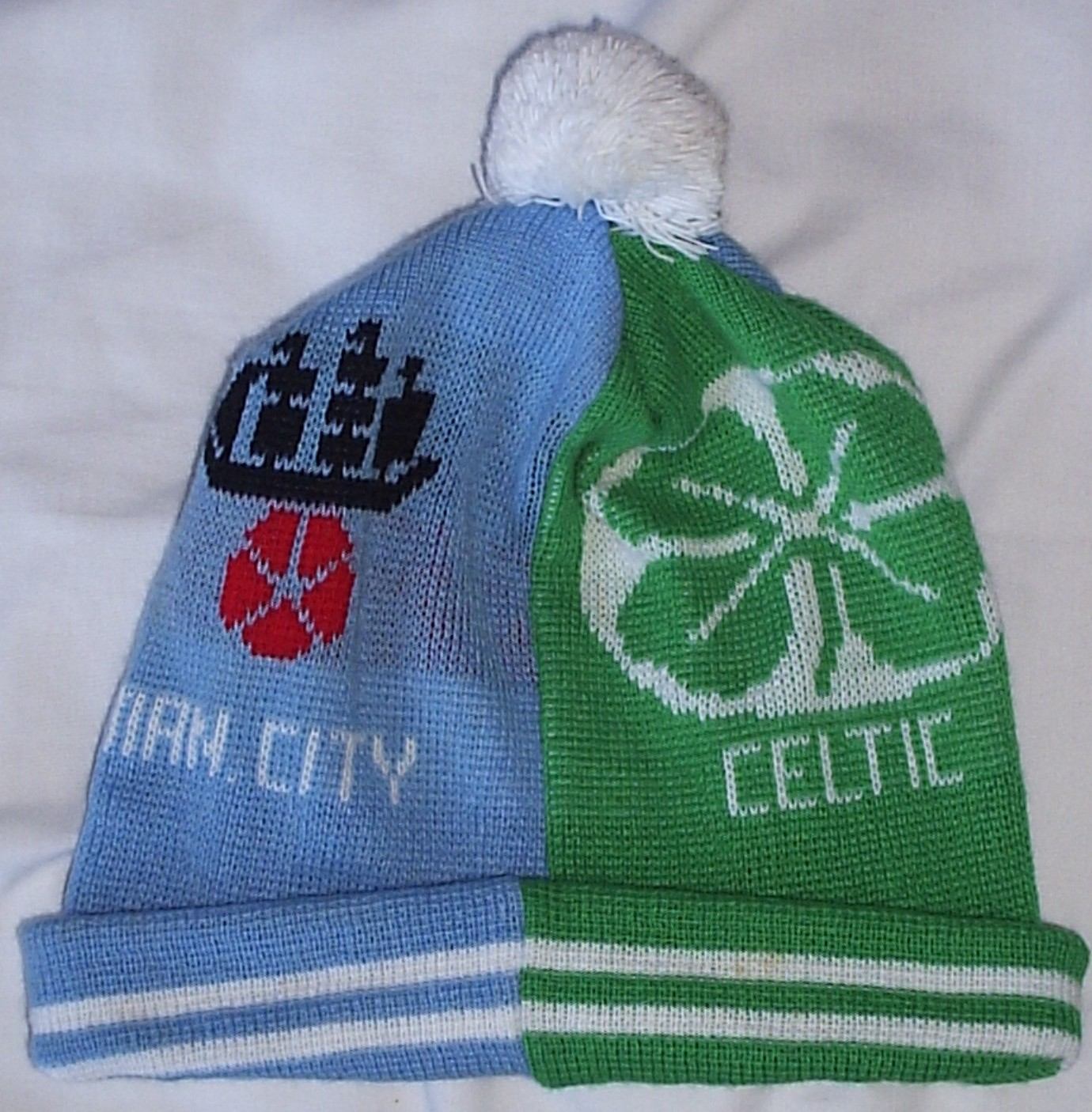 Who remembers the half and half hats from the mid 80 s   You know the  Celtic Liverpool kind of thing that were more common then. They came in two  styles 7194524339fa